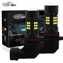 BMT H8 H11 LED Bulbs HB4 9006 HB3 9005 Fog Lights Driving 2835SMD Tail Lamp Car Light parking 1200LM 12V — 24V Auto 6000K White