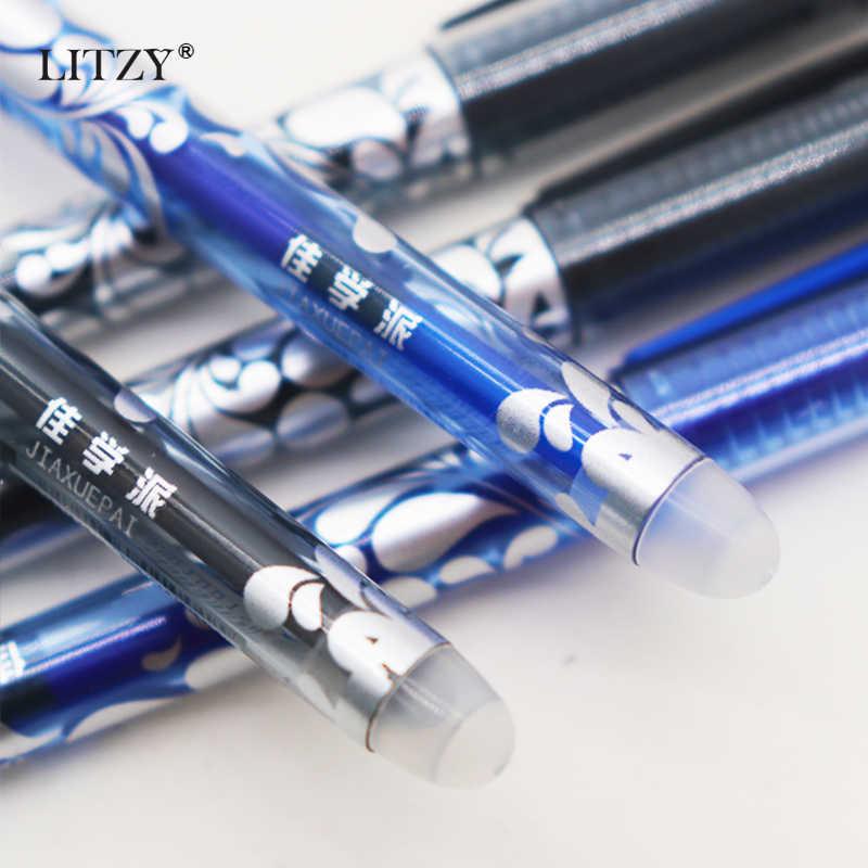 8 sztuk/zestaw 0.5mm zmywalny uchwyt zmazywalny długopis magiczny długopis żelowy neutralne długopisy szkolne papiernicze prezenty 2020