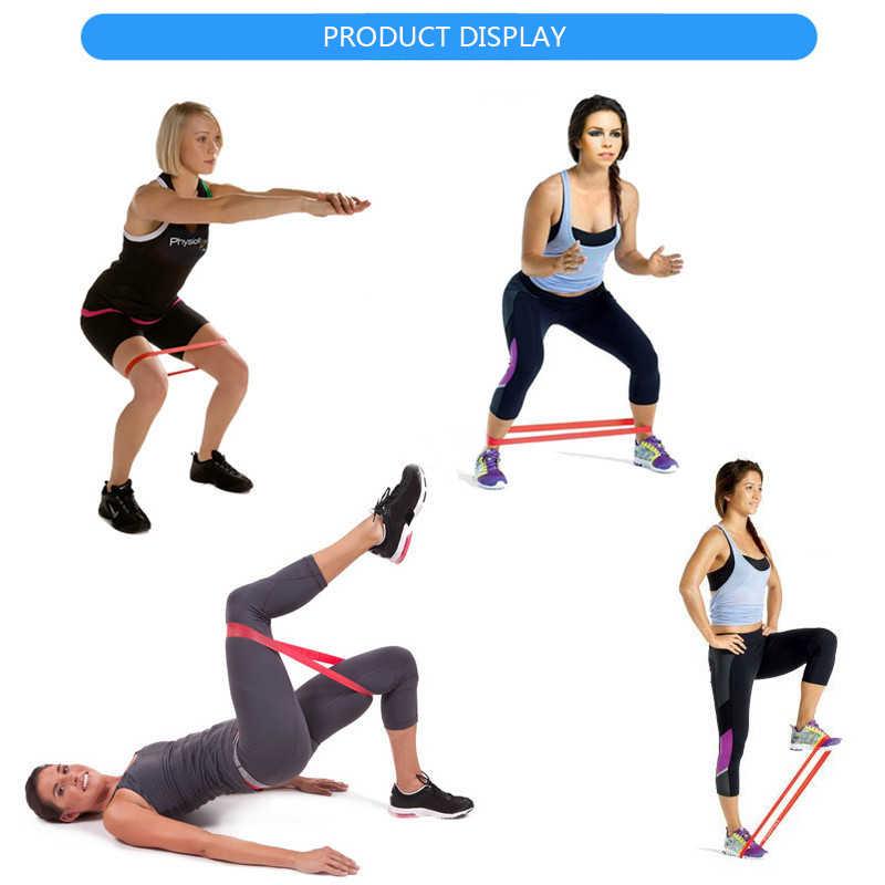 Odporność na opaski elastyczne na trening Fitness trening gumowa pętla do sportu Pilates joga Crossfit Stretching