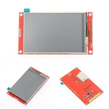 3.5 inch 320*240 SPI Serial TFT LCD Module Display Screen Optical Touch Panel Driver IC ILI9341 for MCU free shipping 10pcs lot 2 2 inch 240 320 dots spi tft lcd serial port module display ili9225 5v 3 3v new hot
