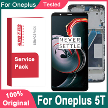 """Original 6.01"""" For OnePlus 5T LCD Display Touch Screen Assembly Replacement For OnePlus 5T A5010 LCD Display Screen Module"""