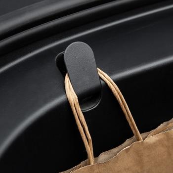 Heenvn Model3 Car Front Trunk Hook For Tesla Model 3 Interior Accessories Functional Front Spare Box Hook For Tesla Model Three car modified trunk adjustable spring racing engine hood lock lock trunk lock tail box hook spring hook car styling accessories