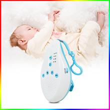 Sound-Machine Baby White Noise Sleep Portable 8 Voice-Sensor Record Music-Timer Soother-Relaxation