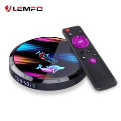 LEMFO H96 Max X3 Smart TV Box Android 9.0 Amlogic S905X3 4GB 128GB Support 8K Youtube Google Play Set Top Box