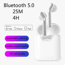 H17T Bluetooth Headset 5.0tws Subwoofer Ultra Remote Connection Distance Wireless for Apple