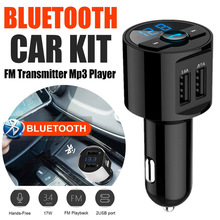 3.6A Quick Charge MP3 Player Bluetooth Car FM Transmitter Wireless USB Charger Auto Accessories