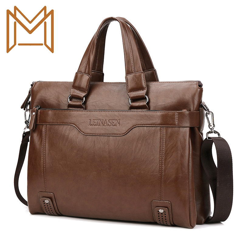 Diagonal Male Package Handbag Computer Package Briefcase Man Single Shoulder Package