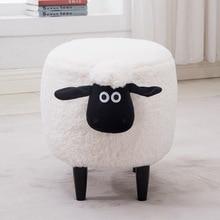 Creative ห้องนอน stool สวมใส่รองเท้าสตูลยุโรปสัตว์สตูลแต่งหน้าเก้าอี้โซฟาเก้าอี้