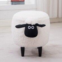 Creative שינה איפור שרפרף לובש נעלי שרפרף אירופאי בעלי החיים שרפרף איפור כיסא ספת כיסא