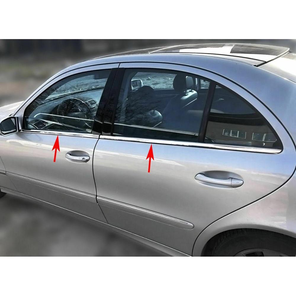 Chrome Window Trims Chrome Mercedes E Class W211 2002-2009