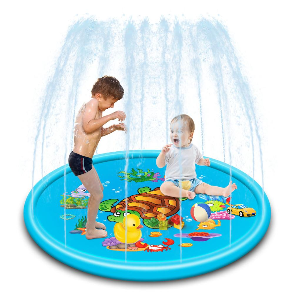170cm inflavel agua spray inflavel animal jato 04
