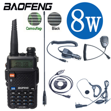 Baofeng UV5R Walkie Talkie 10Km Real 8W Two Way Radio UV 5R Draagbare Ham Radio UV5R Walkie Talkie Fm Transceiver Amateur Radio