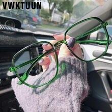 Vwktuun квадратные очки для близорукости женские полигональные