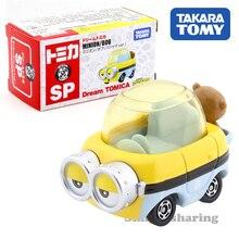 Takara Tomy Tomica rüya SP Minion Bob (pijama Ver.) Araba çocuk oyuncakları motorlu taşıt Diecast Metal Model