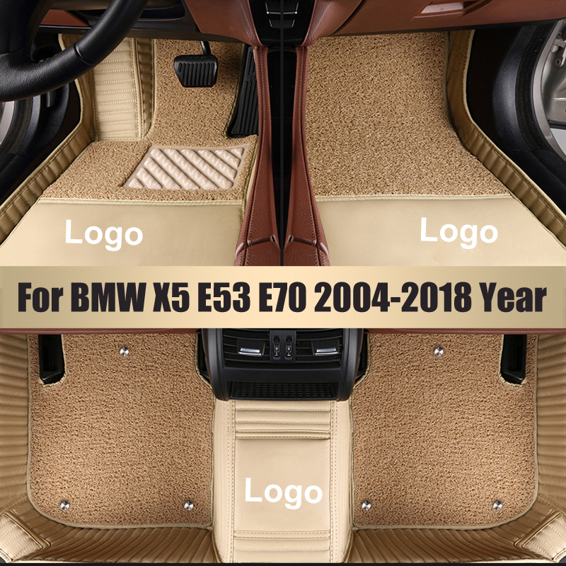 Leather Custom Car <font><b>Floor</b></font> <font><b>Mats</b></font> for <font><b>BMW</b></font> All Models f10 f01 f25 f30 f45 x1 x3 f25 x5 f15 <font><b>e30</b></font> e34 e60 e65 Waterproof <font><b>Floor</b></font> <font><b>Mat</b></font> image