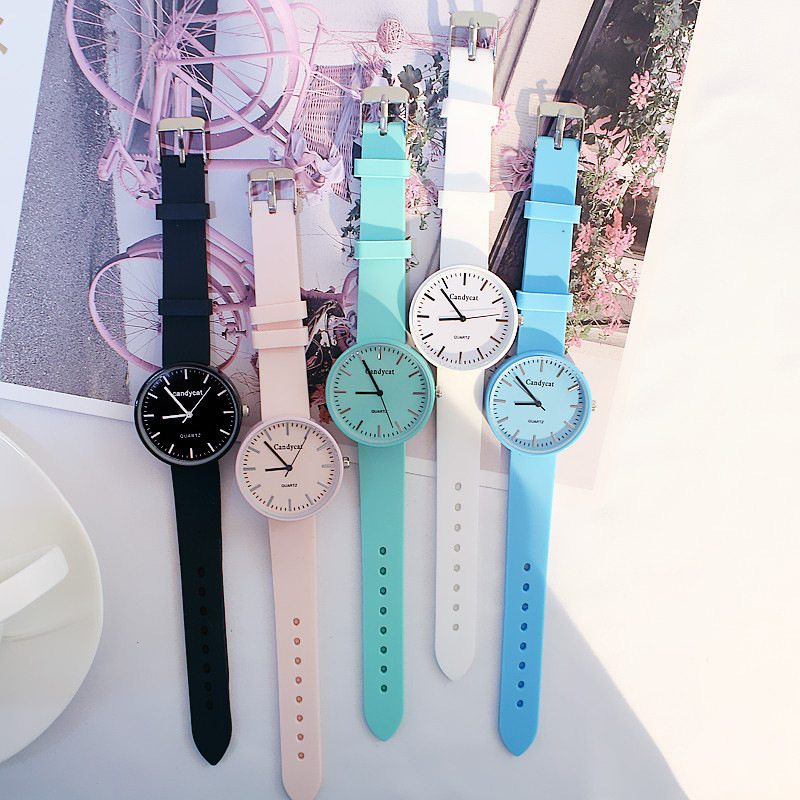 High Quality Hot Sale Simple Casual Watch Female Student Quartz Watch Trend Couple Watch