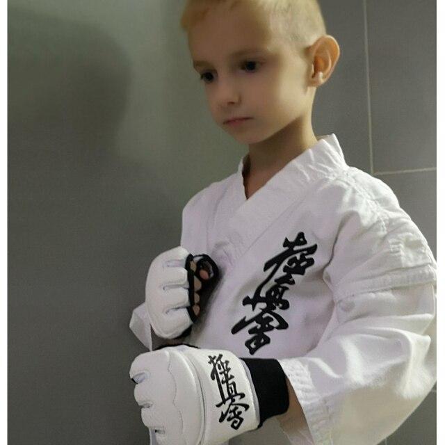 Спортивное кимоно каратэ кёкусинкай высокого качества одобренное WKF 4