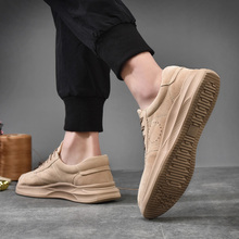 2019 new mens shoes Korean version of the trend pigskin outdoor casual men sports wild