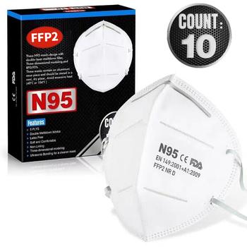 10-40 Pcs maski na twarz maska maski na usta możliwość dostosowania przed zanieczyszczeniem maseczka higieniczna 95 filtr maska na twarz w magazynie tanie i dobre opinie KBAYBO 1l 36db Mgła absolutorium FFP2