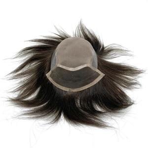 Image 2 - ใหม่มาถึงผู้ชายวิกผมลูกไม้ mono ลูกไม้ด้านบนด้านหน้าผู้ชายวิกผมวิกผมวิกผม bleached knot จัดส่งฟรี