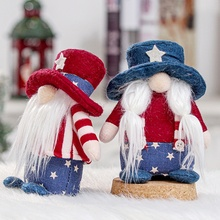 National Day Faceless Dolls Christmas Faceless Doll Merry Christmas Decorations Home Party Santa Claus Doll Gift Home Ornaments