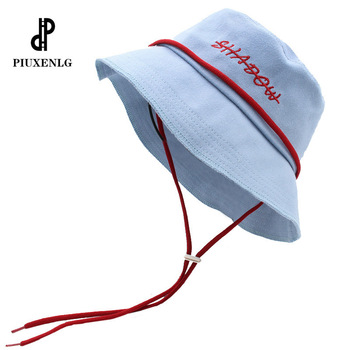 Fashion Embroidered Fisherman Hat Ladies Sun Protection High Quality Luxury Brand Unisex Outdoor Trend Cotton