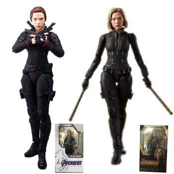 2 styles 6inch Avengers Endgame 4 Figuarts Black Widow Action Figure Model Toys Doll for Gift цена 2017