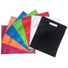 20 pieces  New Wholesales reusable bags non woven /shopping bags/ promotional accept custom LOGO