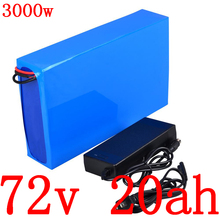 72V 20AH lithium ion battery 72V 2000W 3000W lithium electric scooter battery pack 72V 20AH electric