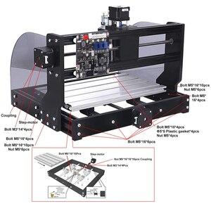 Image 2 - CNC 3018 Pro Max ER11 лазерный гравер PCB фрезерный станок с ЧПУ гравировальный станок GRBL с 15 Вт DIY Лазерный Станок