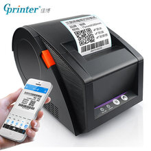 GPRINTER บลูทูธเครื่องพิมพ์ความร้อนเครื่องพิมพ์ 20 มม.ถึง 80 มม.กระดาษสติกเกอร์สำหรับ Android IOS โทรศัพท์มือถือ