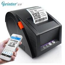 Gprinter Bluetooth תווית מדפסת תרמית קבלה ברקוד מדפסת 20mm כדי 80mm מדבקת נייר עבור אנדרואיד iOS טלפון נייד