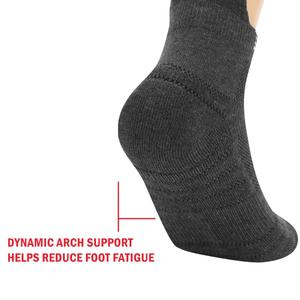 Image 5 - Yuedge Unisex cotton Terry cushion casual sports cycling running low cut ankle socks Sneaker Socks