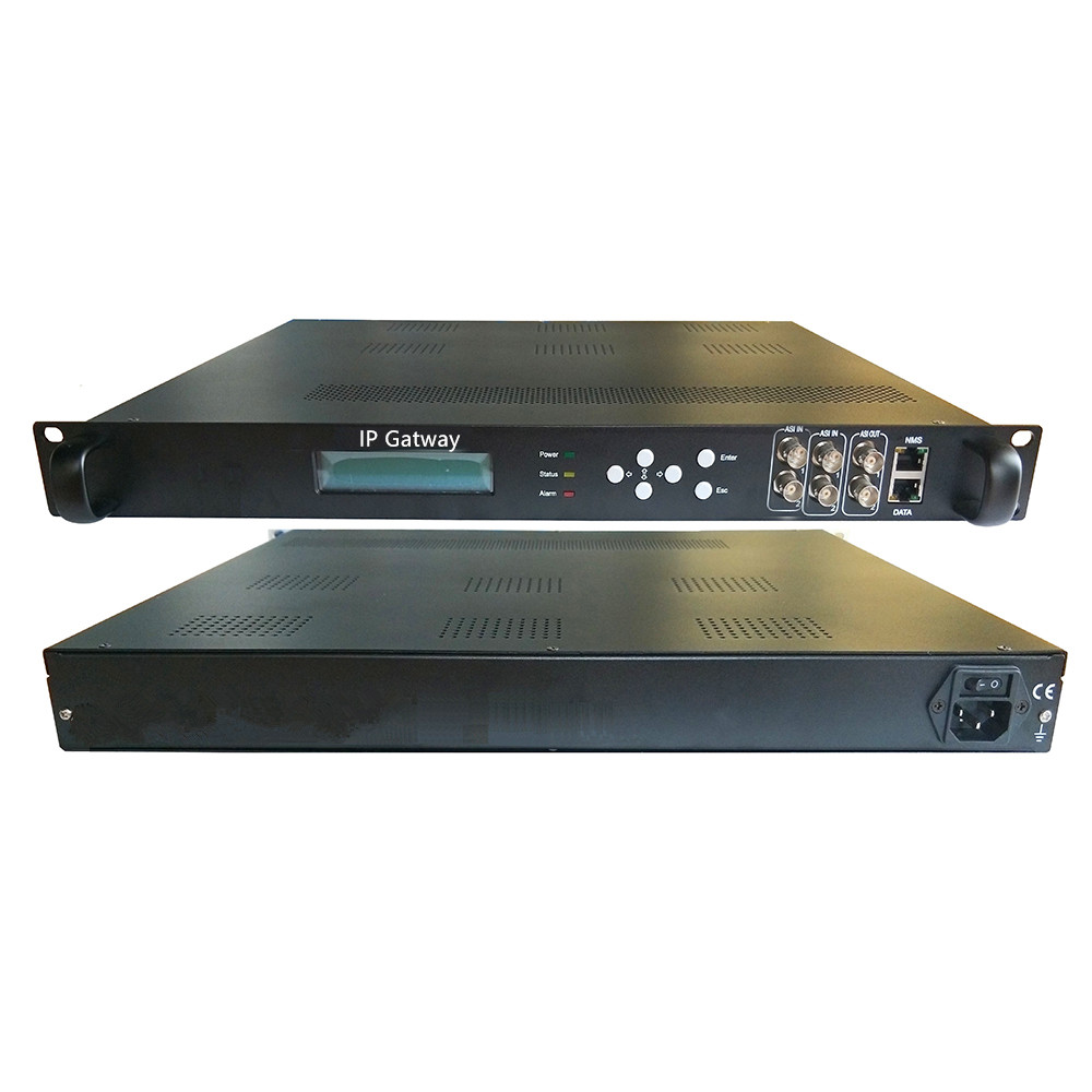 IP to ASI, ASI to IP, TS Stream Multiplexer, Cable TV, IPTV Front End System Equipment, IP / ASI Gateway image