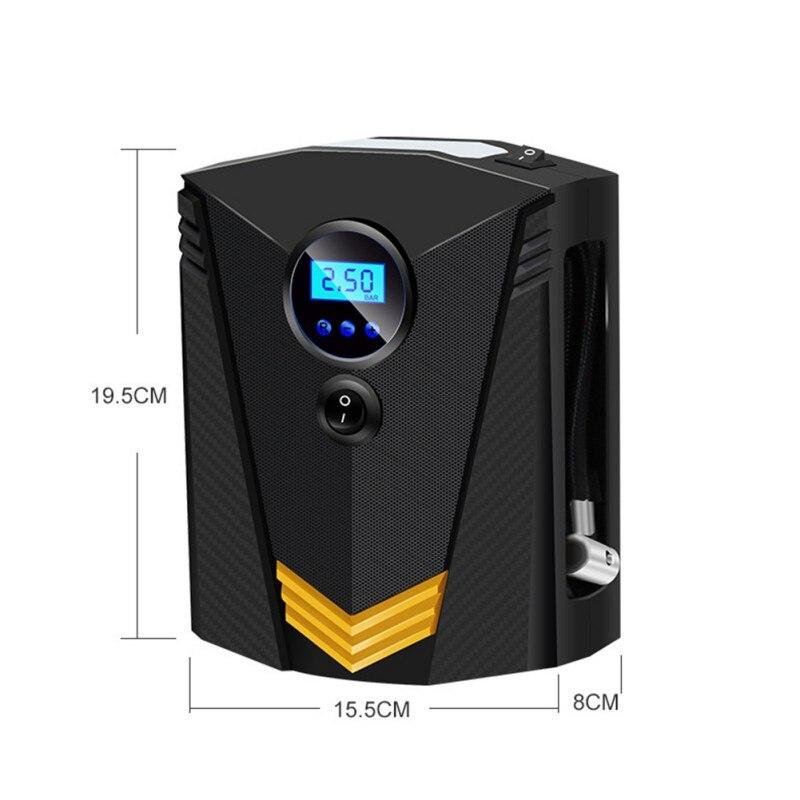 Compressor de ar do carro portátil dc