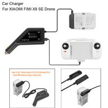 2 in1 ładowarka samochodowa USB bateria pilota zdalnego sterowania ładowarka dla XIAOMI FIMI X8 SE Drone Quadcopter dzieci zabawki dla dzieci 2019 nowy G20 tanie tanio ONTO-MATO Z tworzywa sztucznego 365 days Silnik szczotki 7 4V 2500mAh Lipo Battery 240-300 Mins 4 kanałów 4 * 1 5V AA batteries (not included)