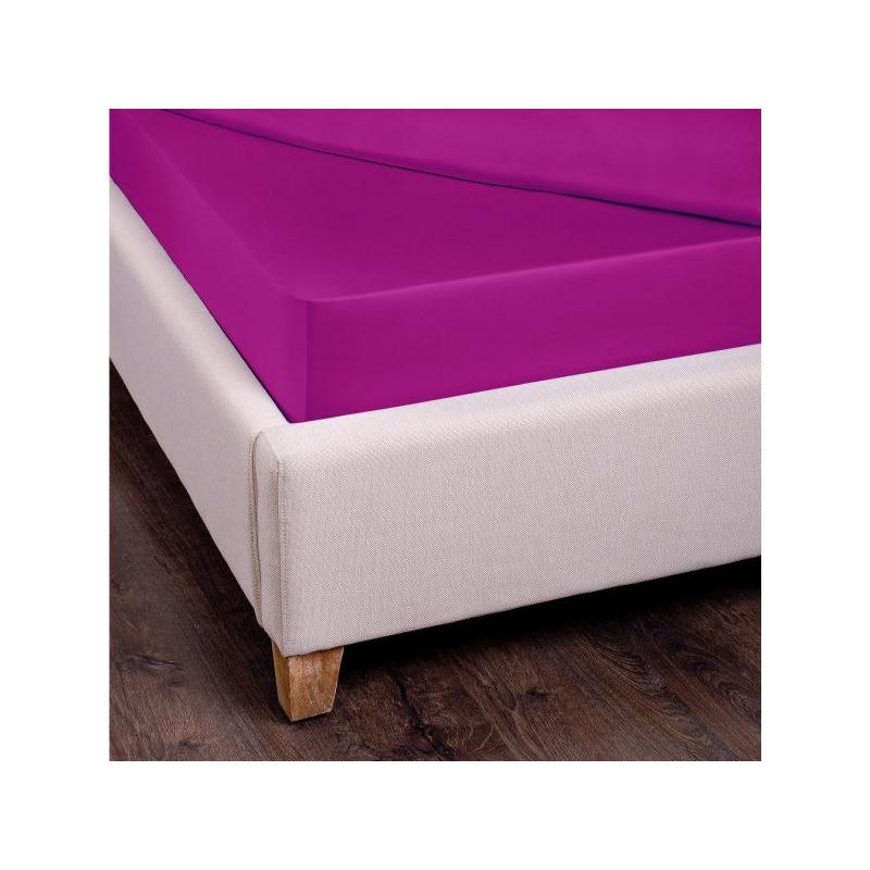 Bed Sheet with elastic band SANTALINO, 160*200 cm, fuchsia [available with 10 11] bed sheet with elastic band ethel orchid