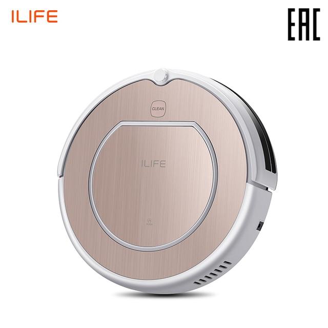 Робот пылесос ILIFE V50 Pro с функцией памяти (тихий, мощный, память маршрута, 120 мин работы)