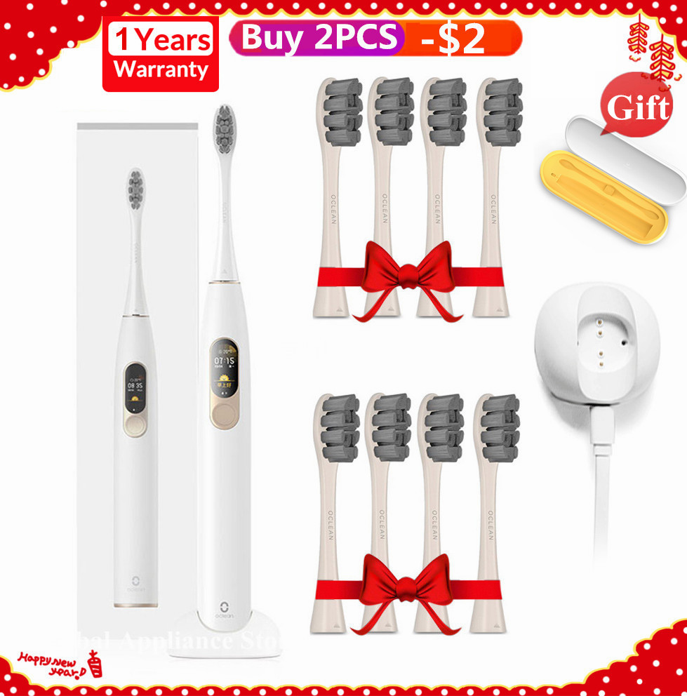 Oclean X Sonic Electric Toothbrush Upgraded Waterproof Ultrasonic Oclean X Toothbrush USB Rechargeable Toothbrush for Women Men image