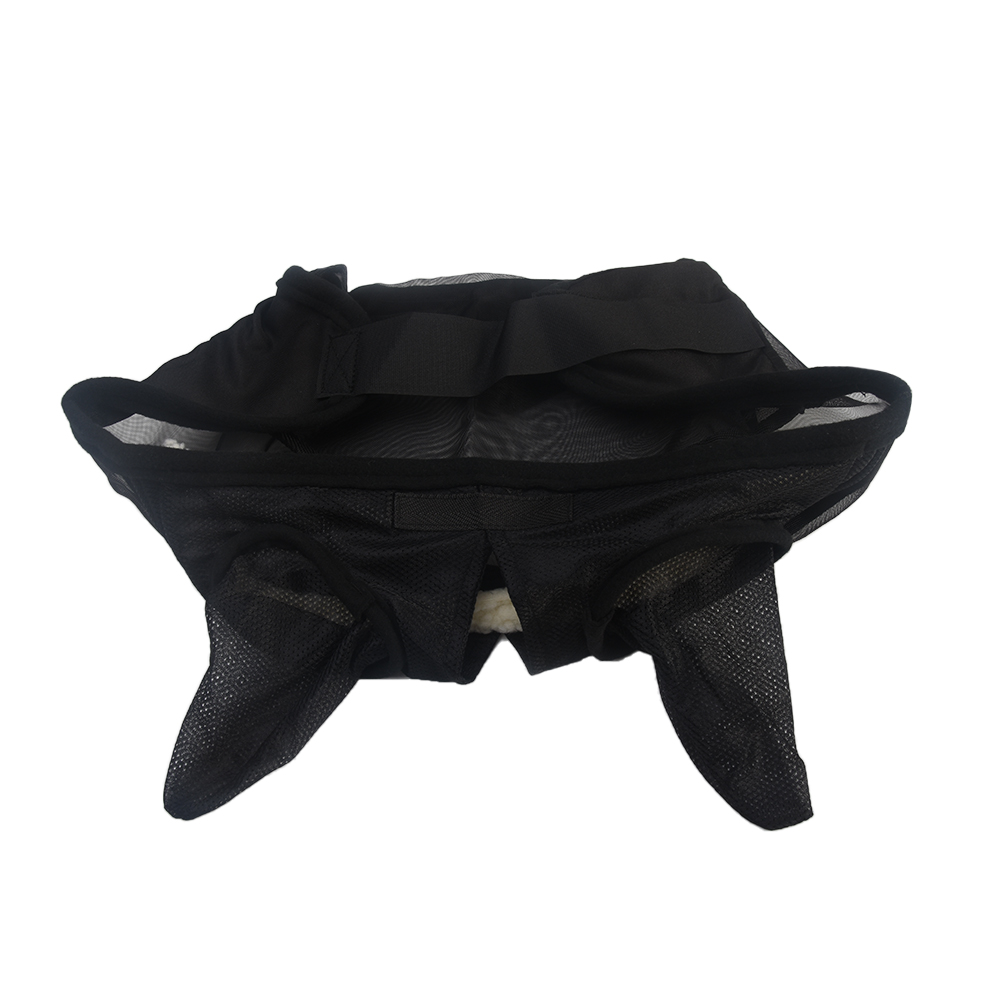 Anti Mosquito Fly Mask Pet Supplies Anti UV Breathable Mesh Zipper Nasal Cover Shield Full Face Summer Armour Horse Protector