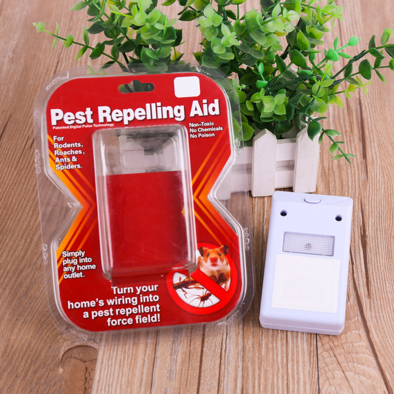 Ultrasonic Mouse Repeller Pest Killer Rats Repelling Aid  Ultrasonic Mosquito Insect Enhanced Insects Rodent Pest Repellent Repellents     - title=