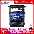 128G для Ford Raptor F150 Android магнитола 2009 -2014 Автомобильный мультимедийный плеер стерео головное устройство Tesla Navi 2din авто