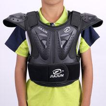 4-15 Years Children Full Body Protector Vest Armor Kids Motocross Armor Jacket Chest Spine Protection Gear Anti-fall