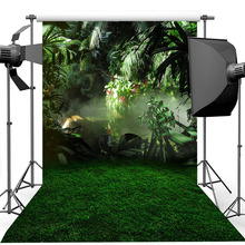 Spring Garden Backdrop Green Leaf Lawn Child Birthday Portrait Photography Background Photography Backdrops For Photo Studio washable backdrops mysterious fairyland arcway fleece photography backdrop for studio photography background f 1491 a