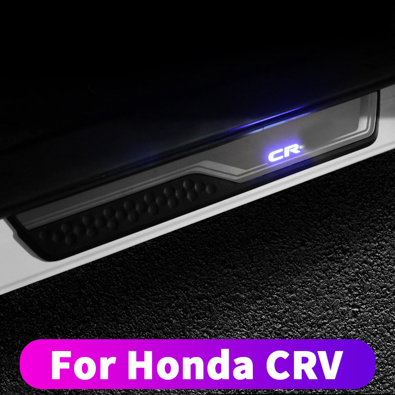 For Honda CRV CR-V 2017 2018 2019 Door Pedals Modified Crv Threshold Protection Strips Anti-dirty And Scratch-resistant Body Dec