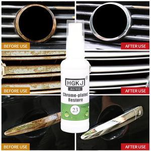 HGKJ-23 средство для обновления хрома автомобиля, стандартное средство для очистки ржавчины автомобиля, ингибитор ржавчины, средство для удаления ржавчины, Прямая поставка, 20/50 мл