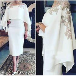 Vestido de madrinha платья для матери невесты 2019 с домкратом два предмета кружевные аппликации Формальные платья для матери платье для гостей на
