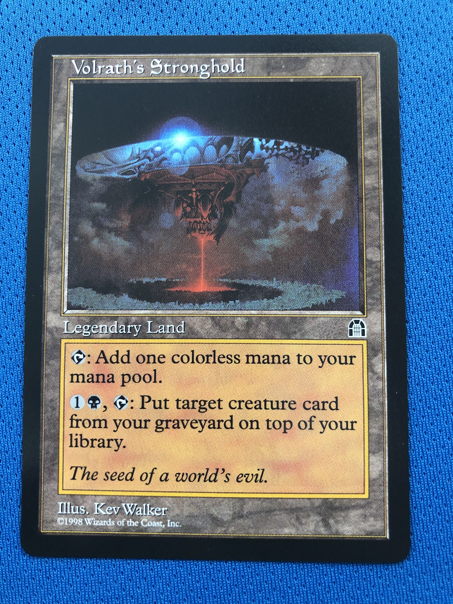 Volrath's Stronghold  SH (Stronghold) STH Magician ProxyKing 8.0 VIP The Proxy Cards To Gathering Every Single Mg Card.