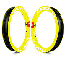12in carbon bike rims 30x25mm 12 inch kids bicycle rims 84mm 95mm 12inch Carbon wheel For Balance Bike 100g  Fluorescent yellow