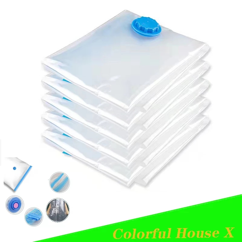 Quilts Clothes Vacuum Storage Bag Waterproof Compression Air Bag Foldable Dustproof And MoistureProof Household Storage Sack
